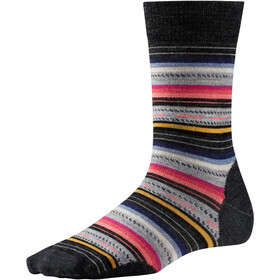 Smartwool Margarita Socken Damen charcoal stripe